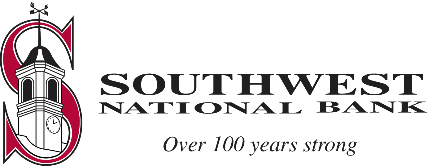Southwest National Bank. Going 100 years strong.